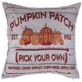 Pumpkin Patch Pillow Cover