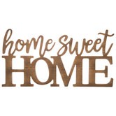 Home Sweet Home Wood Wall Decor