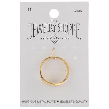 10K Gold Plated Modern Signet Ring
