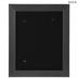 Pewter & Black Wood Wall Frame - 11