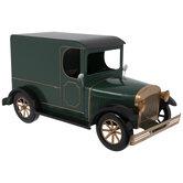 Green & Gold Metal Panel Van