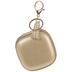 Small Square Zipper Bag Keychain