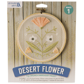 Desert Flower Organza Embroidery Kit