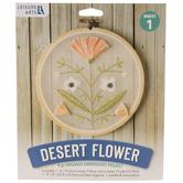 Desert Flower Organza Embroidery Kit