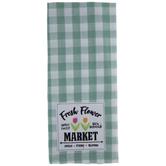 Fresh Flower Market Kitchen Towel