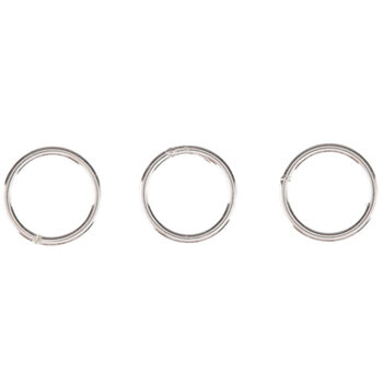 Sterling Silver Closed Jump Rings - 6mm