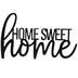 Home Sweet Home Wood Wall Decor