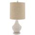 White Rattan Lamp