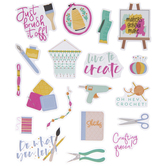 Bright Crafter Stickers