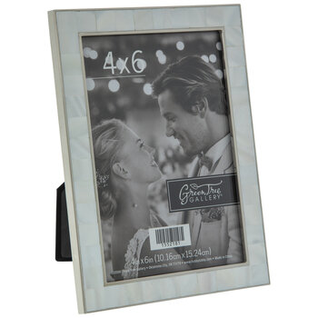 Mother Of Pearl Metal Frame