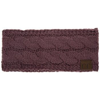 Coco Berry C.C Cable Knit Headband