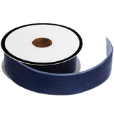 Navy Velvet Ribbon Trim - 7/8""