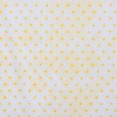 Yellow Suns Cotton Calico Fabric
