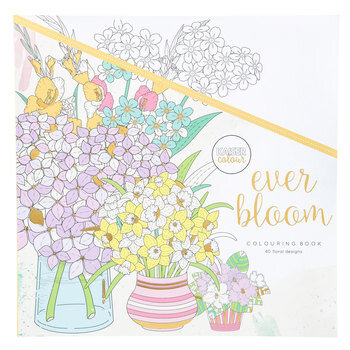 Ever Bloom Coloring Book