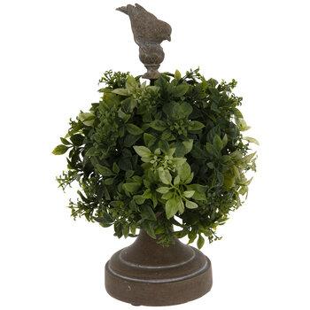 Sphere Topiary With Bird