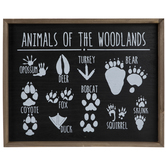 Animals Of The Woodlands Wood Wall Decor