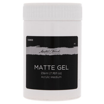 Matte Master's Touch Gel Acrylic Medium - 7.98 Ounce