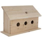 Fir Wood Birdhouse