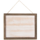 Rustic Hanging Plaque