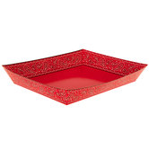 Red Bandana Paper Trays