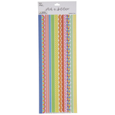 Multi-Color Assorted Border Stickers