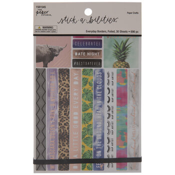 Everyday Borders Foil Stickers