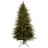Instant Light Fast Shape Royalton Pre-Lit Christmas Tree - 7 1/2'
