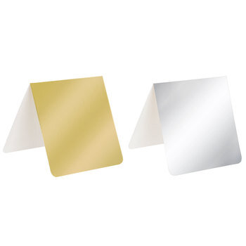 Gold & Silver Enclosures With Envelopes