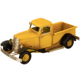 Yellow Metal Truck