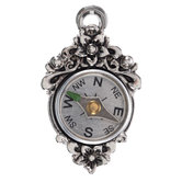 Floral Compass Pendant