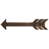 Arrow Wood Wall Decor