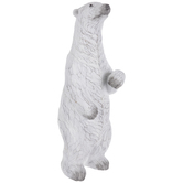 White Carved Polar Bear
