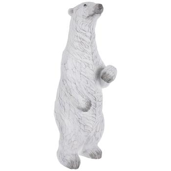 White Carved Polar Bear