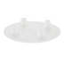 White Round Cake Separator Plate - 6