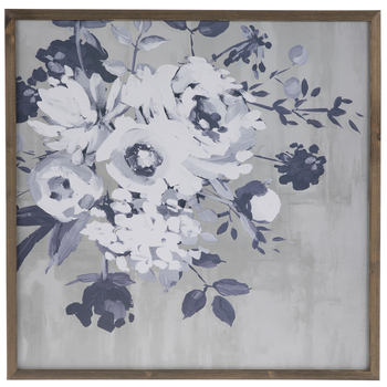 Floral Wood Wall Decor