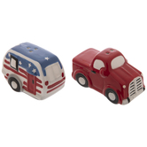 American Salt & Pepper Car Shakers