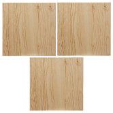 Square Framed Wood Decor