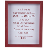 Three Sizes That Day Framed Wall Decor