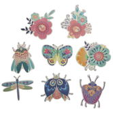 Flowers & Bugs Paper Shapes