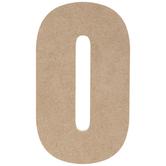 "Wood Number - 5"""