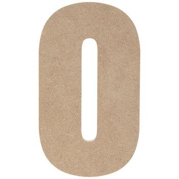 "Wood Number 0 - 5"""