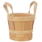 Wood Bushel Basket