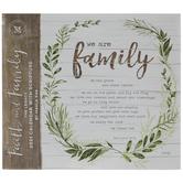 Faith & Family Calendar