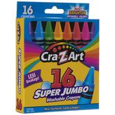 Cra-Z-Art Super Jumbo Washable Crayons - 16 Piece Set