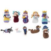 Plush Nativity Scene