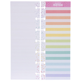 Happy Planner Rainbow Lined Happy Notes Pages