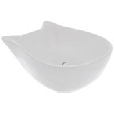 White & Black Cat Bowl