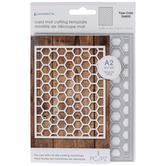 Honeycomb Card Mat Die