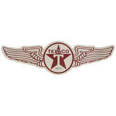 Texaco Wings Metal Sign