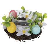 Easter Egg Wreath Candle Holders